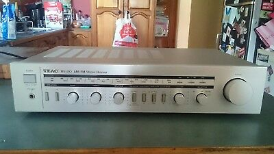 Very Nice Vintage Retro Teac Am/fm Stereo Receiver Amplifier Rv-210 Made In Jap