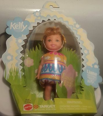Easter Eggie! Barbie Kelly Club Liana Chick Blonde Target Special NRFB Bunny HTF