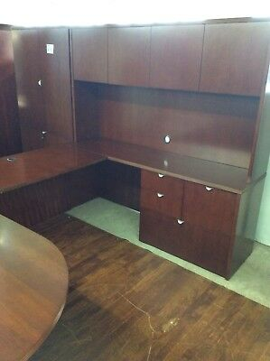 executive office set all wood