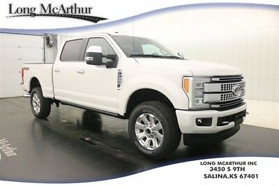 2017 Ford F-250 PLATINUM 4X4 AUTOMATIC CREW CAB MSRP $65300 NAVIGATION HEATED COOLED FRONT LEATHER SEATS ULTIMATE TRAILER TOW CAMERA SYSTEM