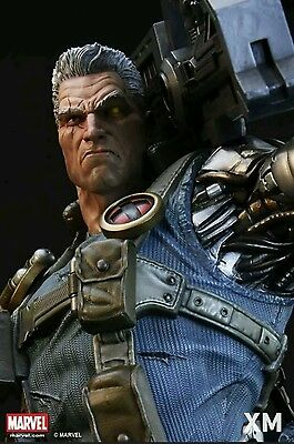 XM Studios Cable 1/4 Scale Statue STGCC EXCLUSIVE Ready to Ship NEW Unopened!