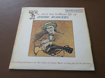The Short But Brilliant Life Of Jimmie Rodgers Lp Uk Rca Victor 1963