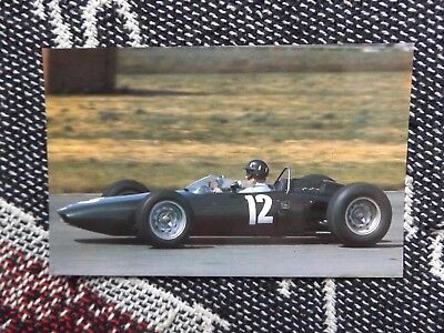 Motorsport Postcard - Graham Hill Brm Type 56 Aintree 1962