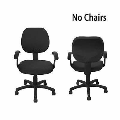 BTSKY Modern Simplism Style Stretchable Separate Chair Covers Removable Resil...