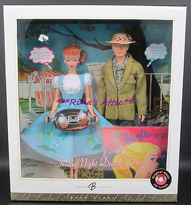 FRIDAY NIGHT DREAM DATE Gold Label Repro Reproduction Barbie & Ken Gift Set