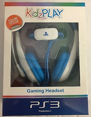 KidzPLAY Stereo Gaming Headset - Blue (Sony Playstation 3 / PS3)