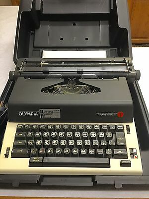Olympia Report Electric Typewriter With Case Works A+