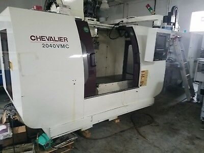 Used Chevalier 2040 CNC Vertical Machining Center Mill Anilam 24 Tools 2002