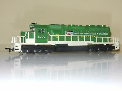 Ahm Powered Sd40-2 Champion Southern Engine Locomotive Ho Scale Excellent