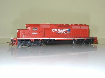 Athearn Powered Sd40-2 Canadian Pacific Cp Rail Engine Locomotive Ho Scale New