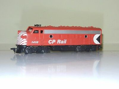 Athearn Powered F7 Canadian Pacific Cp Rail #1410 Engine Locomotive Ho Scale New