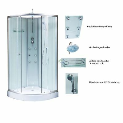 duschtempel fertigdusche duschkabine glas komplett dusche wanne 80 x 80 cm neu eur 239 00. Black Bedroom Furniture Sets. Home Design Ideas