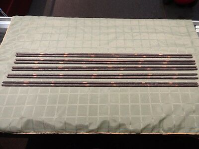 Set Of 10 Vintage Coppered Stair Carpet Grips/ Clips Rods Ready To Ship!!!