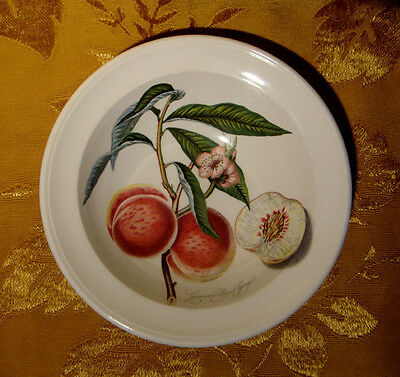 "Portmeirion *pomona* Rim Cereal Bowl Grimwoods Royal George Peach 6 3/4"" Britain"