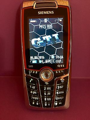 Siemens Sp 65 Gti Phone Limited Edition Vw Very Rare Unlocked