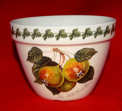 Portmeirion *pomona* Pudding Bowl Peach, Red Currant, Pear Made In England