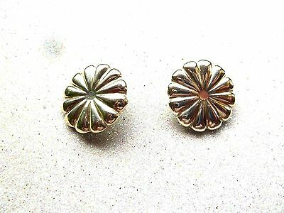 Vintage Sterling Silver Large Earrings