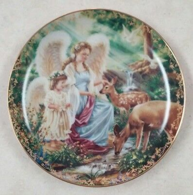 """""""Making New Friends""""  Plate by Dona Gelsinger"""