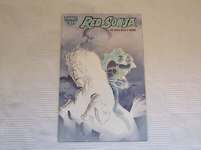 Red Sonja #10 Billy Tan Photo Negative Variant Dynamite