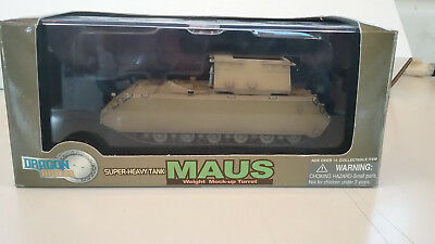 1/72 scale Dragon WWII German Super Hvy Tank MAUS ( Weight Mock Up Turret )