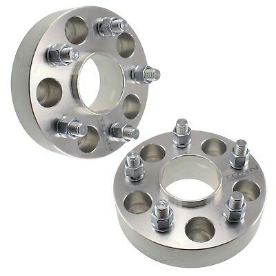 """(2) 1.5"""" inch Hubcentric 5x4.75 Wheel Spacers Adapters 66.9mm Hub Bore 5x120.7"""