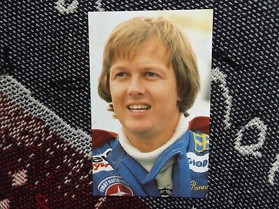 Motorsport Postcard - Ronnie Peterson - Grand Prix Driver