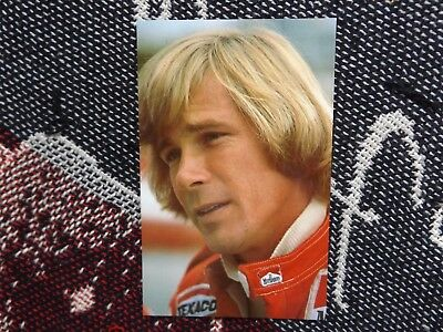 Motorsport Postcard - James Hunt - Grand Prix Driver