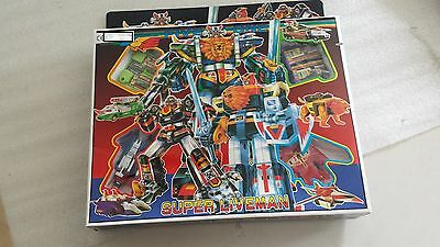 Robo super liveman five one Vintage Toy Boxed Made Taiwan