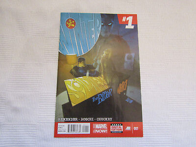 Winter Soldier - The Bitter March #1 - signed by Rick Remender - Marvel Now