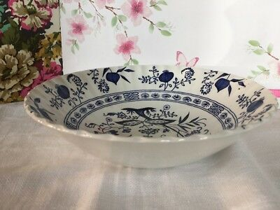 J & G MEAKIN ~*Blue Nordic ~* 1 SERVING / SALAD BOWL - 21 cm -Vgc