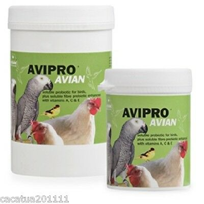 New:  Avipro Avian 100G Probiotic For All Birds From Vetark