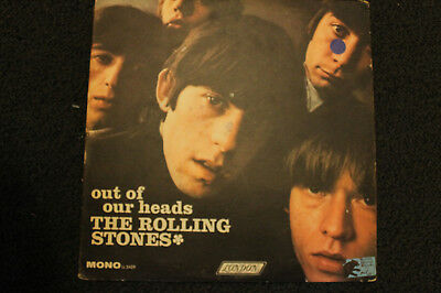 Original 1965 Mono The Rolling Stones Out Of Our Heads  Lp London Red Label