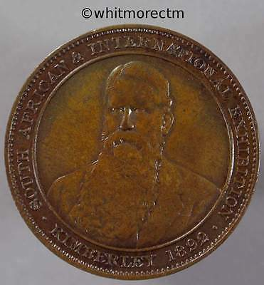 1892 South Africa International Exposition Medal 29mm Kimberley