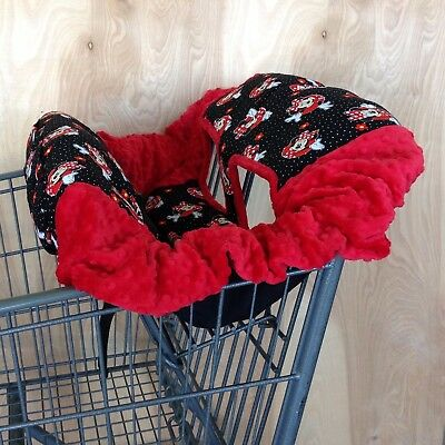 Shopping Cart Cover- Minnie Mouse/ Red