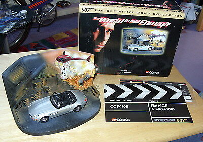 James Bond The World Is Not Enough Bmw Z8 & Diorama Limited Edition
