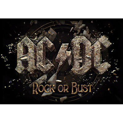 Official Textile Poster AC/DC- ROCK OR BUST Licensed Merch Flag New 105cm X 65cm