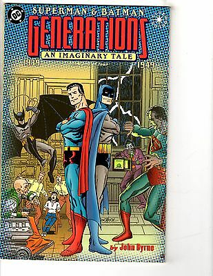 Lot Of 3 Generations An Imaginary Tale DC Comic Books # 1 2 3 John Byrne J226