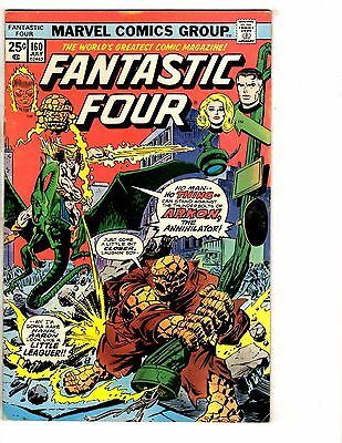 Lot Of 5 Fantastic Four Marvel Comic Books # 160 161 162 163 164 Human Torch NP2