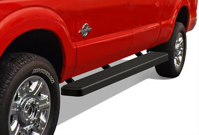 """iBoard Running Boards 6"""" Black Fit 99-16 Ford F250/F350 SuperDuty Crew Cab"""