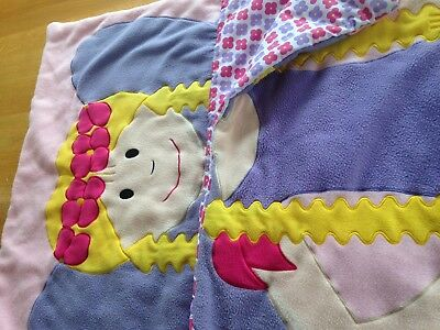 Original Snuggle Sac/sleeping Bag Ballerina Girls Blanket/sleepovers