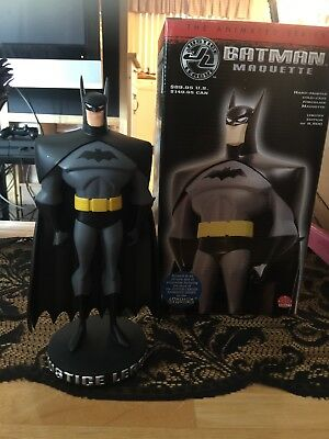 Batman Statue Maquette Justice League The Animated Series Cartoon Network New!!!