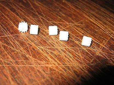 5 Assorted Pinion Gears  - 8, 9, 10, 11, & 12 Tooth For Scalextric &others C8403