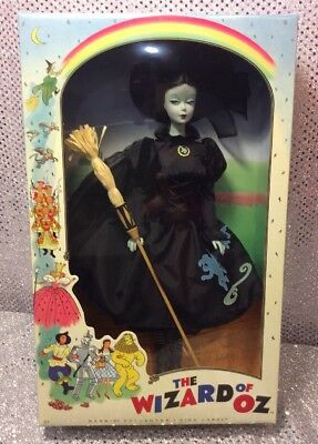 Wicked Witch The Wizard Of Oz Barbie Doll 2010 Pink Label T2152 Mint Nrfb