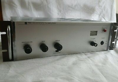 TOA Solid state PA Amplifier model T.A 908