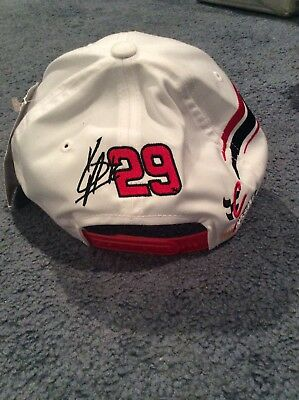 Nascar Kevin Harvick Goodwrench Signed Racing Hat