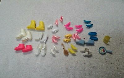 Vintage Barbie Accessories Boots And Shoes Lot