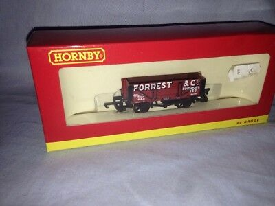 Hornby R6593, 4 Plank Wagon,  Forrest & Co, 00 Gauge, Boxed, New