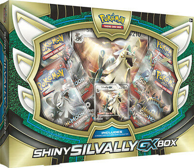 Shiny Silvally GX Collectors Box, Pokémon TCG [PRE-ORDER]