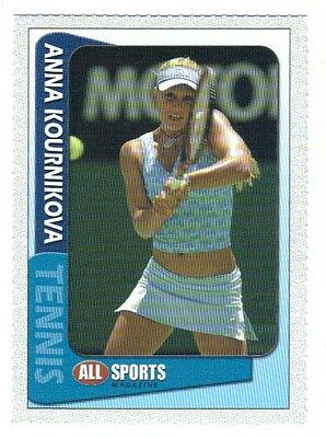 Anna Kournikova  , All Sports Magazine , Women's Tennis