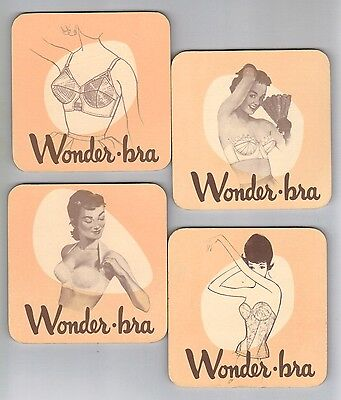 Wonder-bra , 4 coasters set